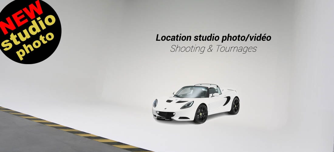 Location studio photo & vidéo